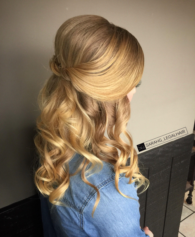 Simple Upstyle Winter Formal Hair Formal Hair Elegant Updo Formal Hairstyles Formal Hairstyles For Long Hair Easy Formal Hairstyles