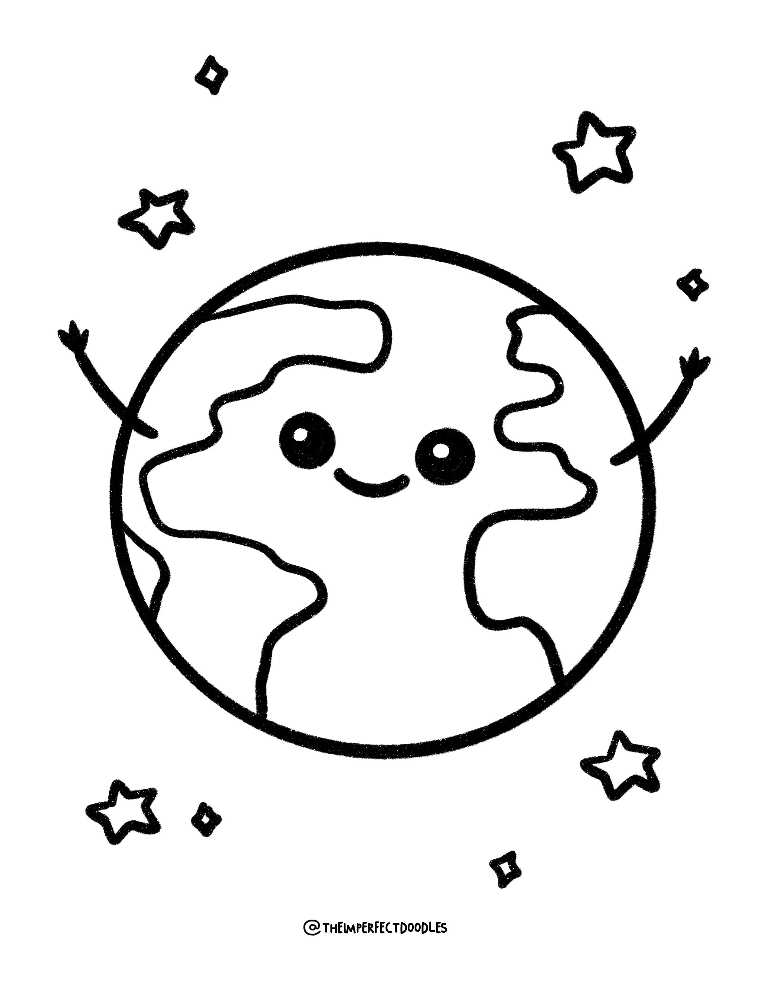 Printable Nature Coloring Pages Earth Day Coloring Pages Etsy Earth Day Coloring Pages Coloring Pages Cool Coloring Pages