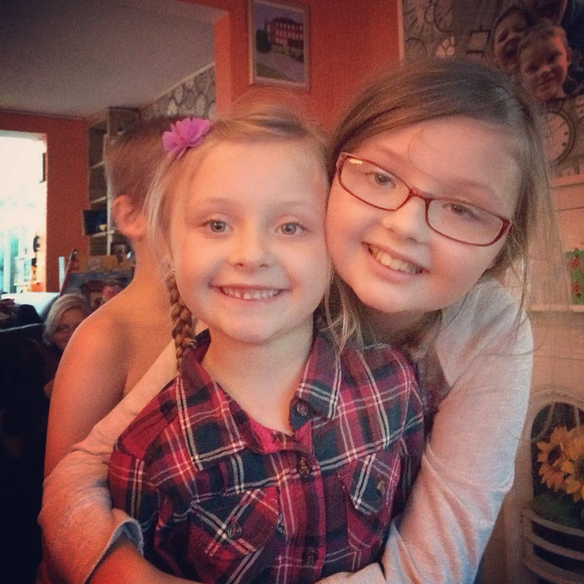 Our cute cute nieces Lottie and Gracie ❤️