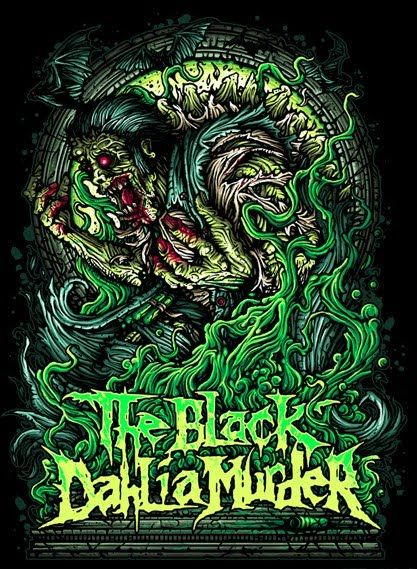 The Black Dahlia Murder Favorite Album Art The Black Dahlia