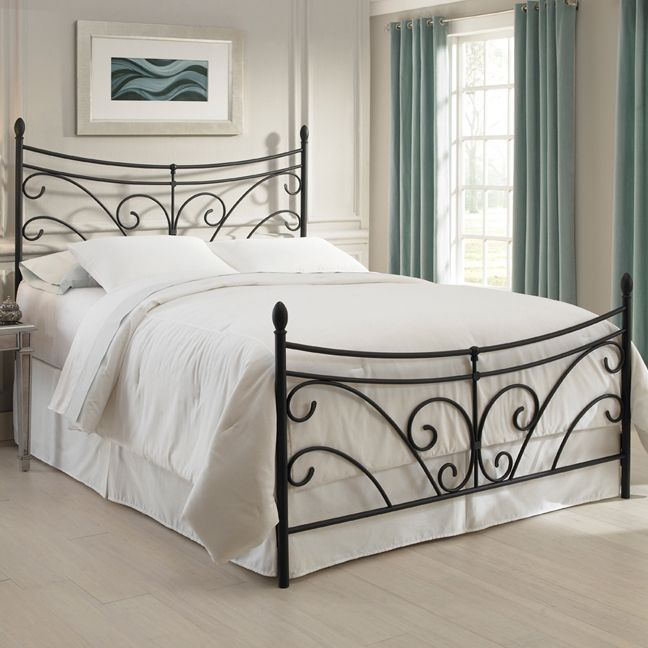 Best Bergen Metal Bed Decoração De Quarto Cabeceira 400 x 300