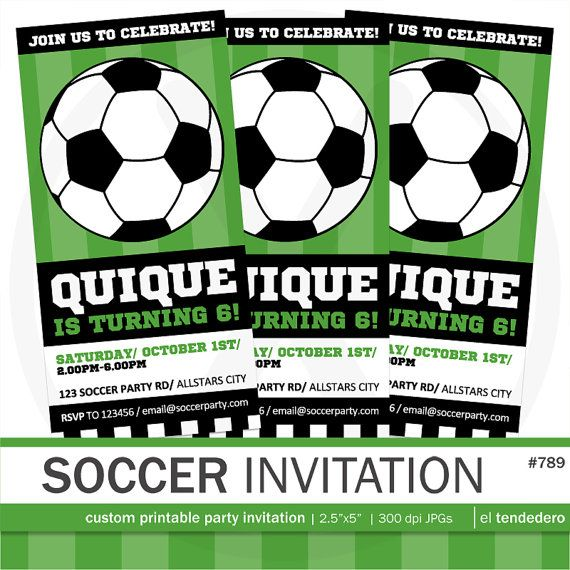 editable soccer ticket invitation template printable sports invite