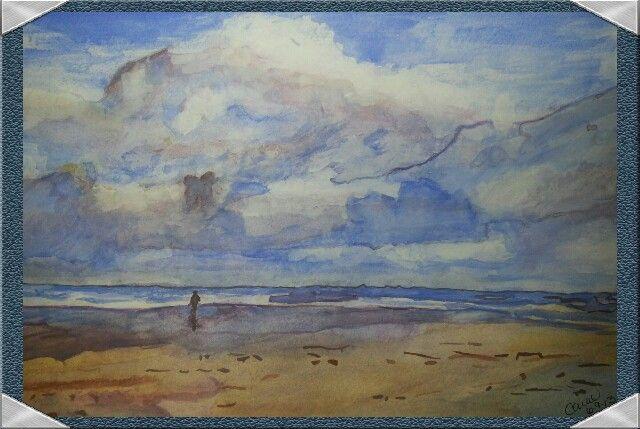 """""""Cloudy Beach Day"""""""