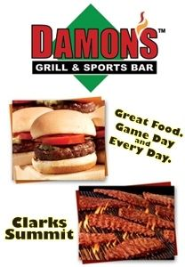 damons clarks summit coupon