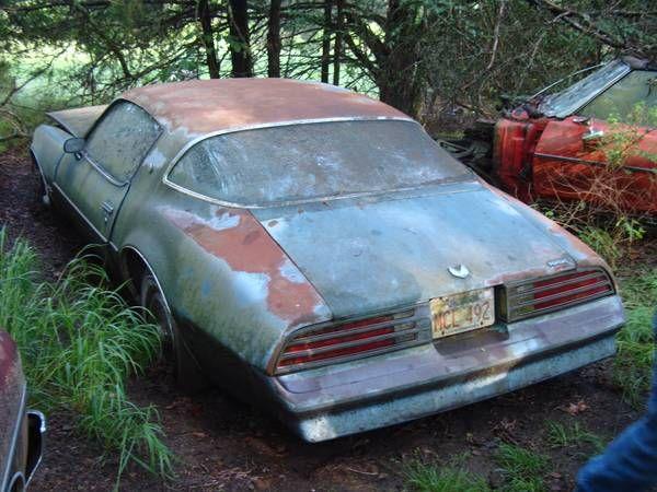1977 Firebird Esprit rotting in the AK woods (Craigslist