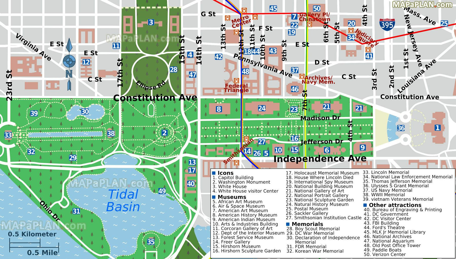 Pin About Washington Dc Map And Washington Dc On Projects