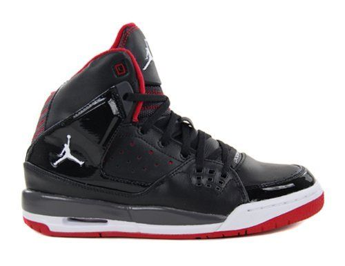 Air Jordan SC-1 (GS) Black - White - Gym Red - Night