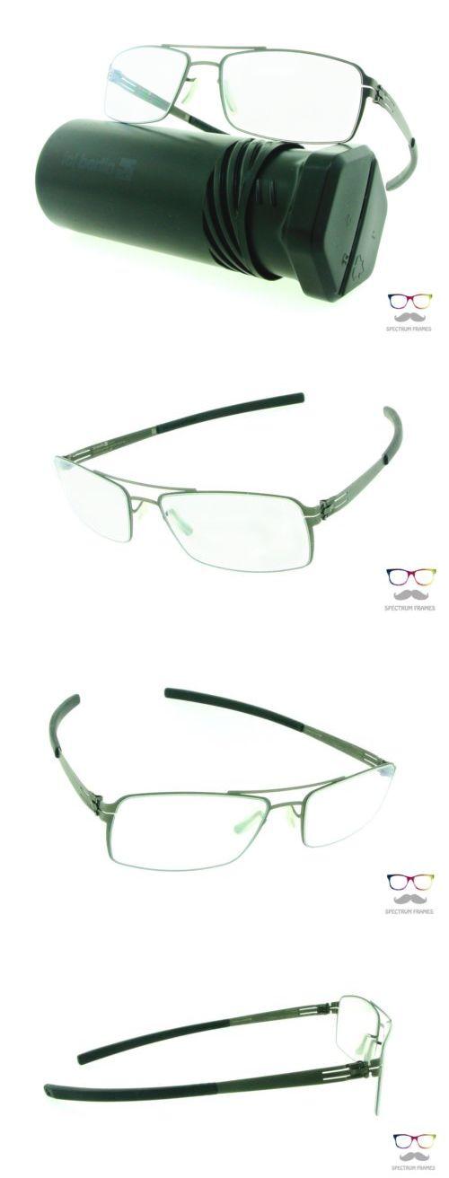 Fashion Eyewear Clear Glasses 179240: Ic! Berlin Eyeglasses Tom B ...