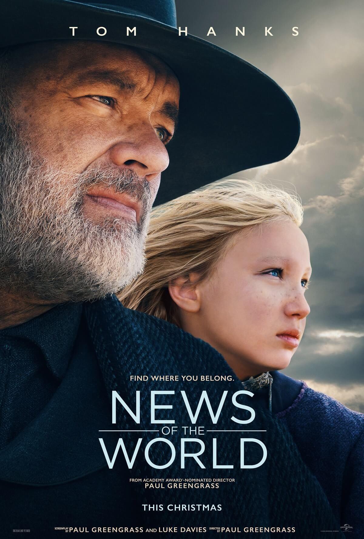 News Of The World New Trailer Starring Oscar Winner Tom Hanks In 2020 Tom Hanks Tom Hanks Movies New Trailers