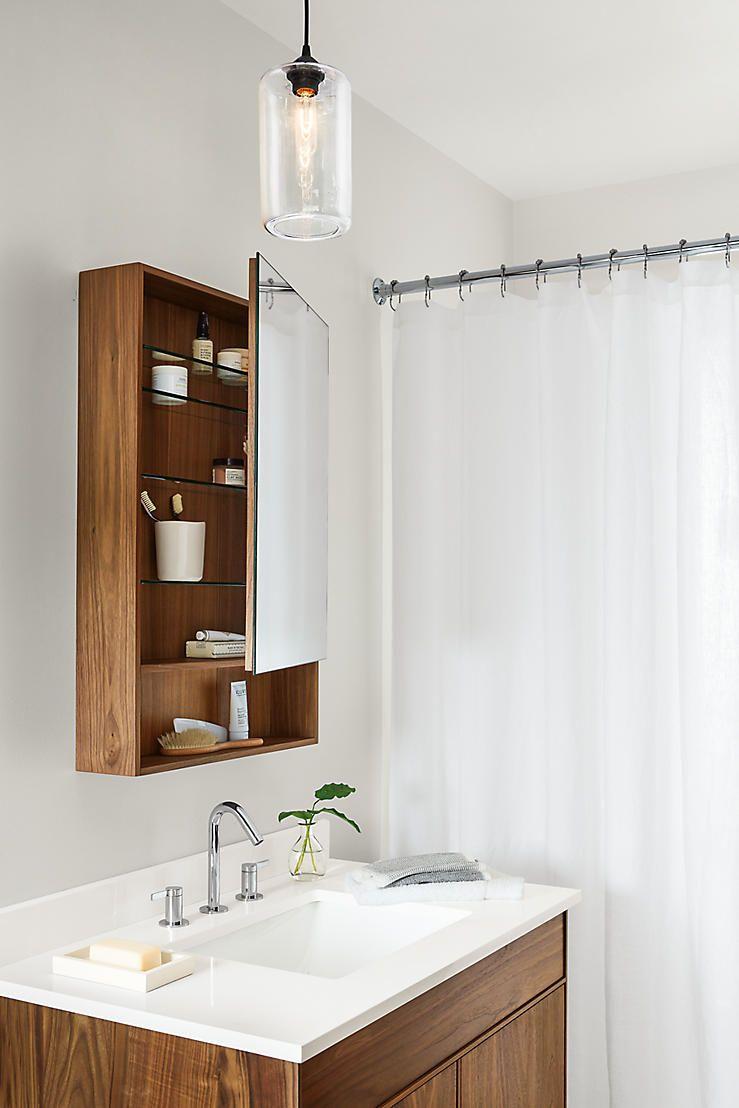 Image Set Modern Bathroom Bathroom Vanity Cabinets Glass Shelves