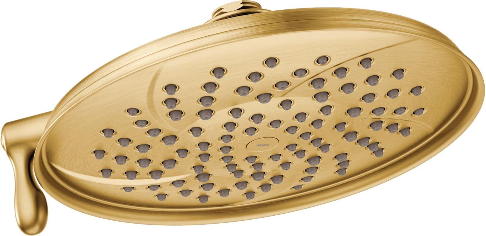 Moen S1311ep Shower Heads Gold Shower Rain Shower
