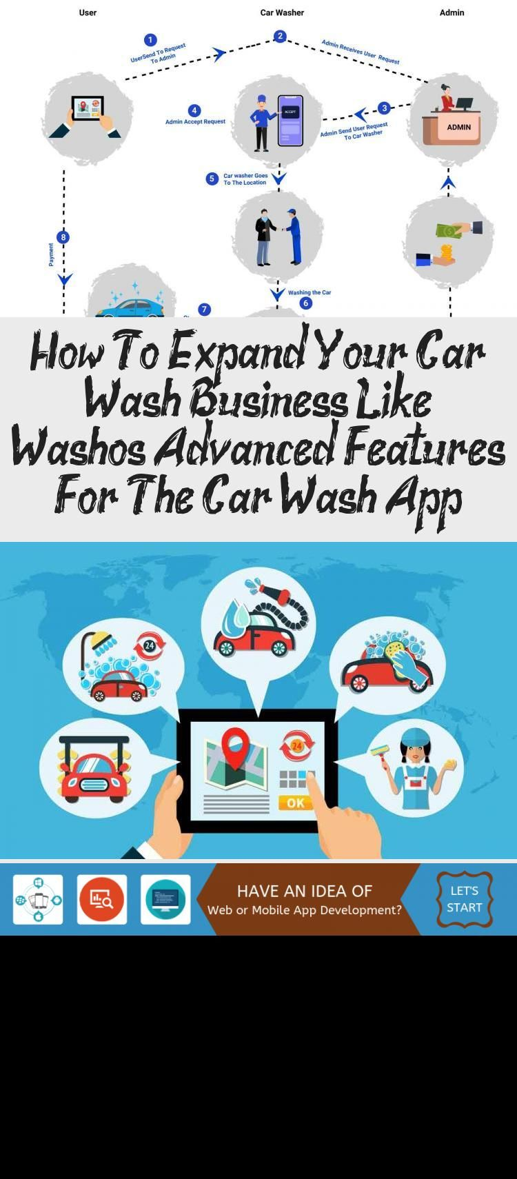 How To Expand Your Car Wash Business Like Washos Advanced Features For The Car Wash App Technology In 2020 Car Wash Business Car Wash App Technology