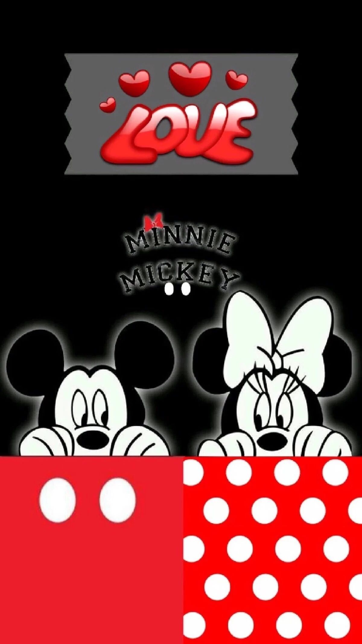 Minnie And Mickey Mouse Wallpaper Mickey Mouse Pinterest