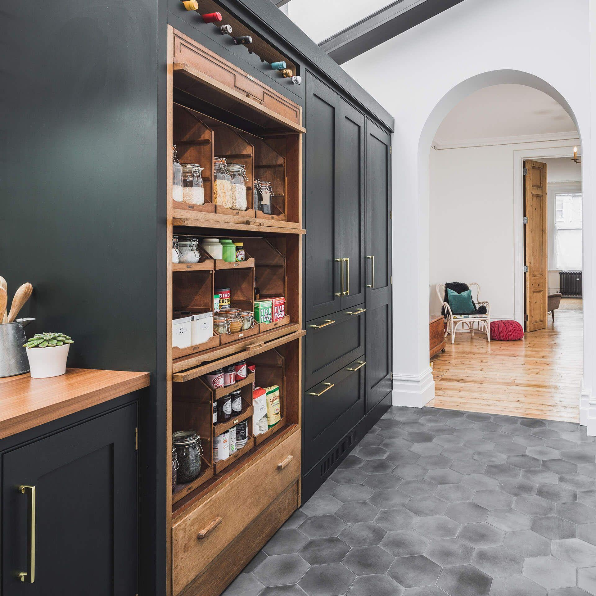 Sustainable Kitchens Bespoke Kitchens Across The Uk Sustainable Kitchen Dark Green Kitchen Green Kitchen Cabinets