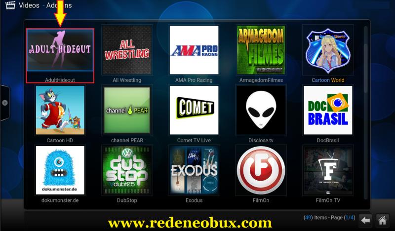 Tutorial - Como Instalar o Addon AdultHideout KODI XBMC | Movie tv