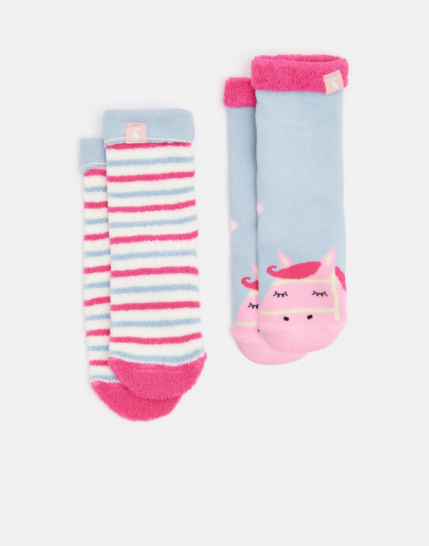 Terry Horse Character Socks Joules US