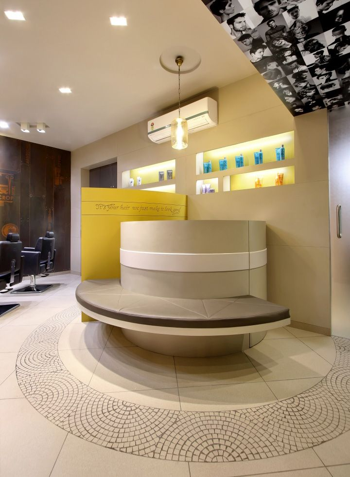 Capital Salon By Archis Patel Tanvi Rajpurohit Vadodara India Retail Design Blog Interior