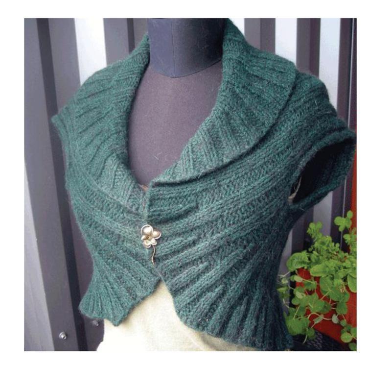 Circle Vest   Knitting patterns and Patterns