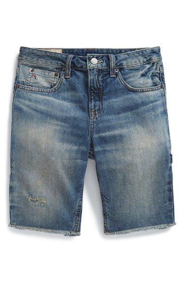 2789c9855a Boy's Ralph Lauren Cutoff Denim Shorts<3 | DENIM INSPIRATION in 2019 ...
