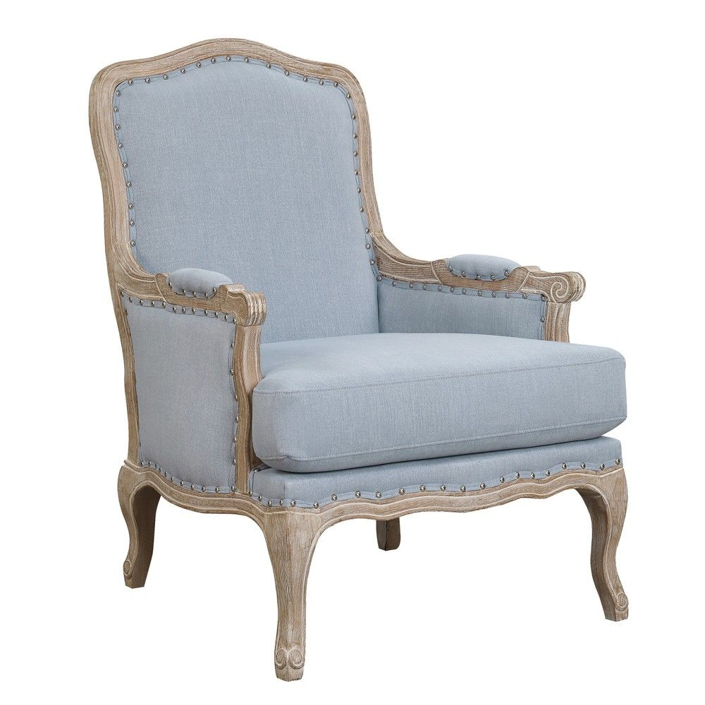 Best Regal Accent Chair Light Blue Picket House Furnishings 400 x 300