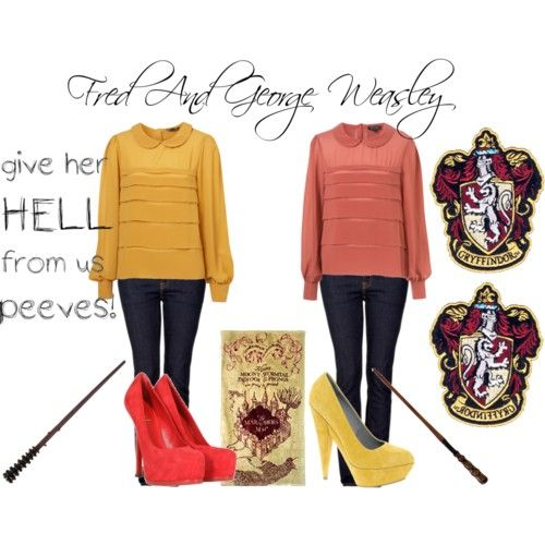 Harry Potter Fred and George inspired candle weasley twins