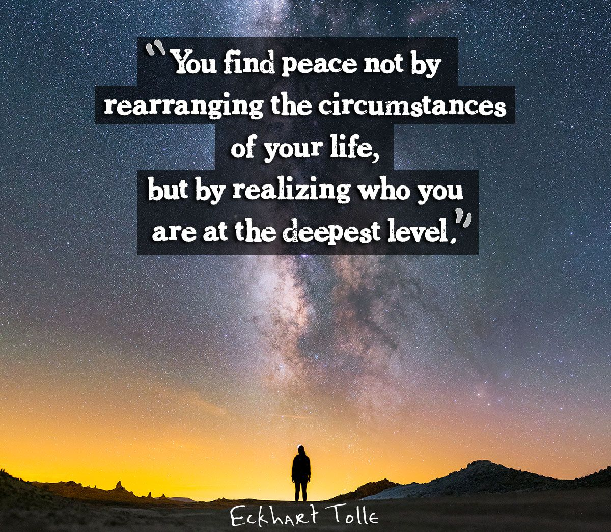 Peaceful Mind Peaceful Life Quotes Eckhart Tolle On Peace  Nature And Mind  Pinterest  Eckhart