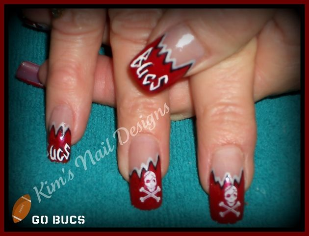 Tampa Bay Buccaneers Nails Images Google Search