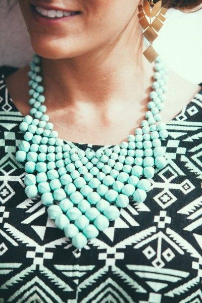 noonday-necklace. I own this necklace, and LOVE it! Would love earrings to match it! :)