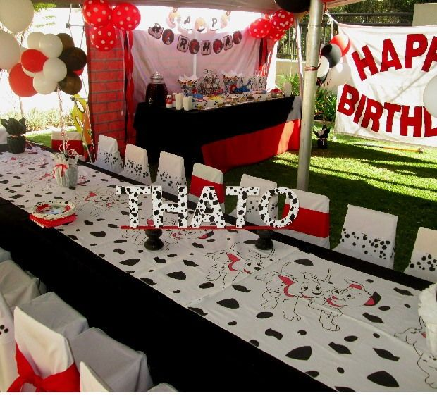 Account Suspended 101 Dalmations Party Dalmatian Party Party Decorations