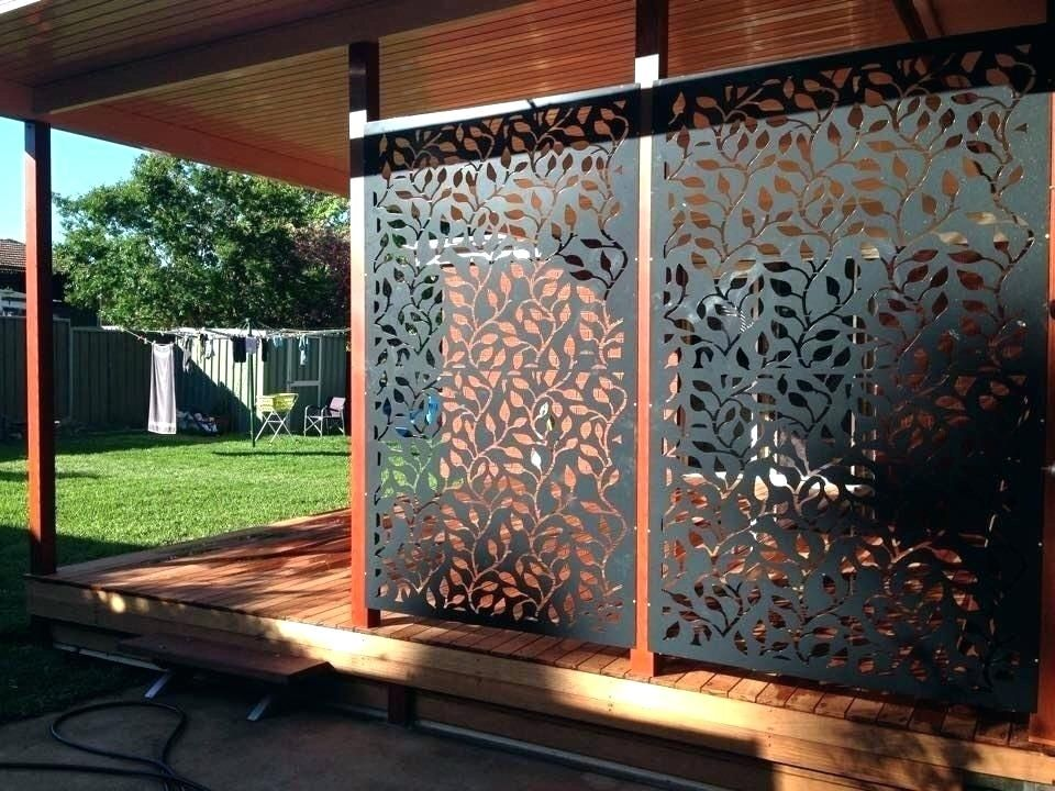 Decorative Outdoor Privacy Screens Metal Privacy Screens