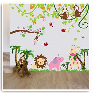 Animal wall stickers ebay