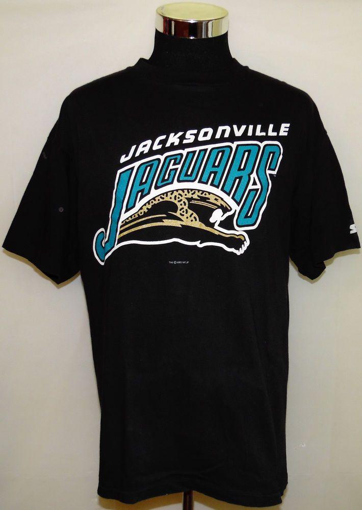 76af2273 Details about Vintage 1993 Jacksonville Jaguars NFL Football T-Shirt ...