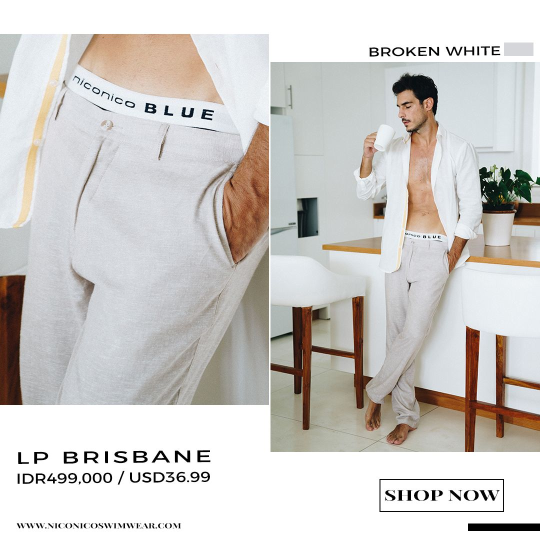 4627189fc29 LP Brisbane, our long pants men collection made of Imported Linen with line  fastener system
