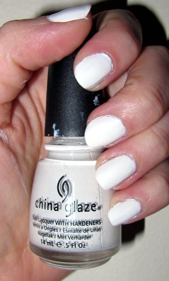 White on White, China Glaze