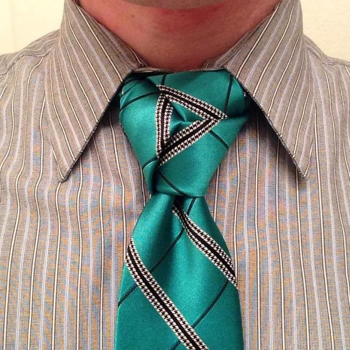 Amazing trinity knot submission from Nathan Adams for the