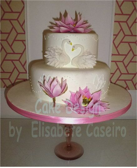 lotus flower wedding cakegorgeous beautiful
