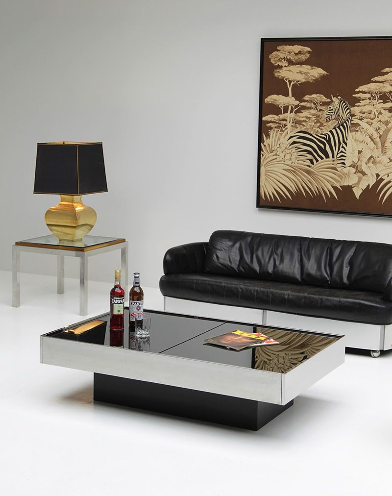cidue coffee table willy rizzo | furniture/product design