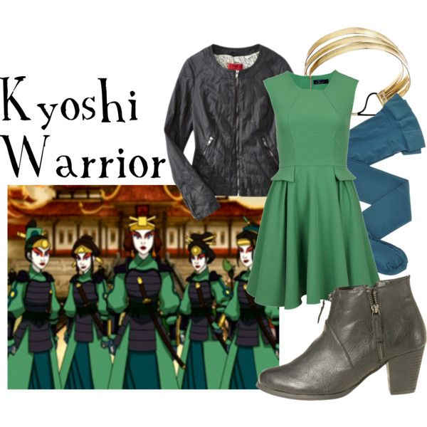 """""""Kyoshi Warrior"""" by companionclothes on Polyvore"""