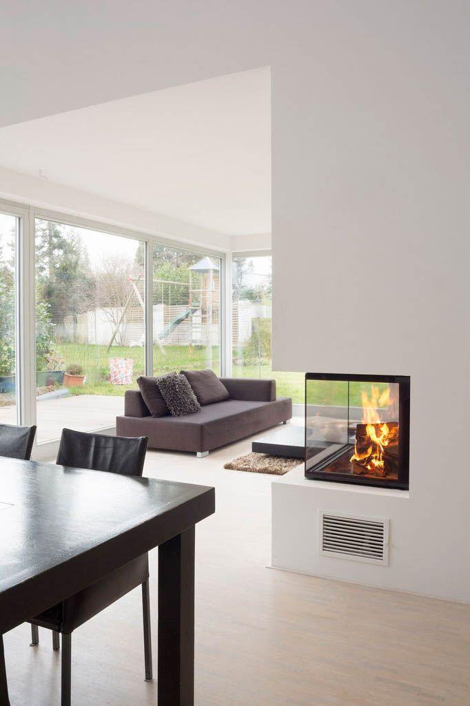 ein 3 seitiger holzkamin der heizeinsatz kommt von spartherm und heisst arte 3 rl 80 h. Black Bedroom Furniture Sets. Home Design Ideas