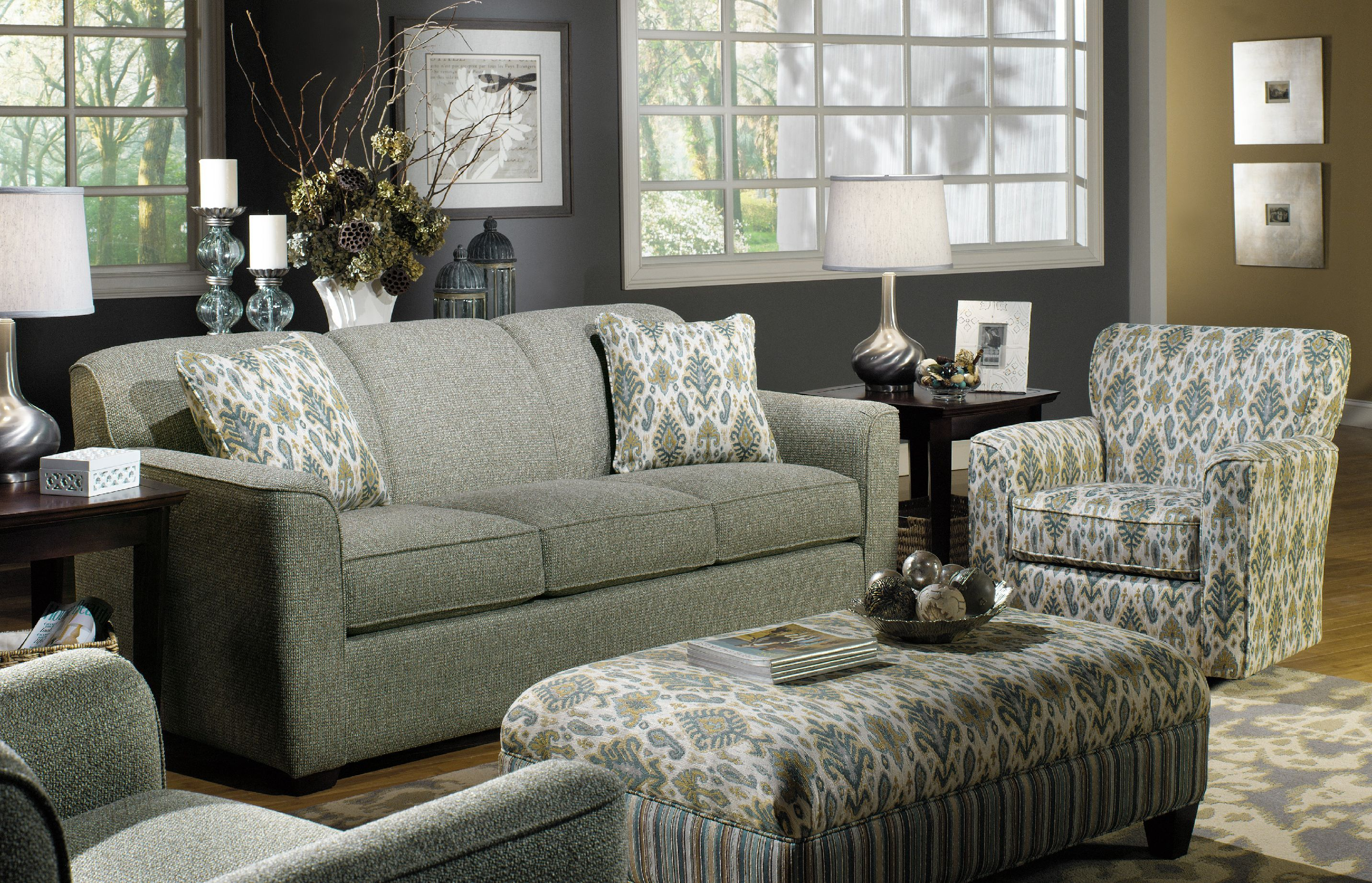 Craftmaster Living Room Sofa 725550   Tyndall Furniture Galleries, INC    Charlotte, Mooresville,