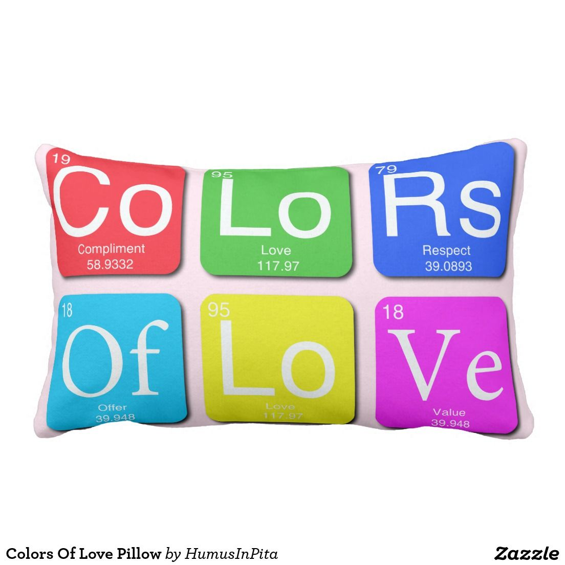 Colors Of Love Pillow
