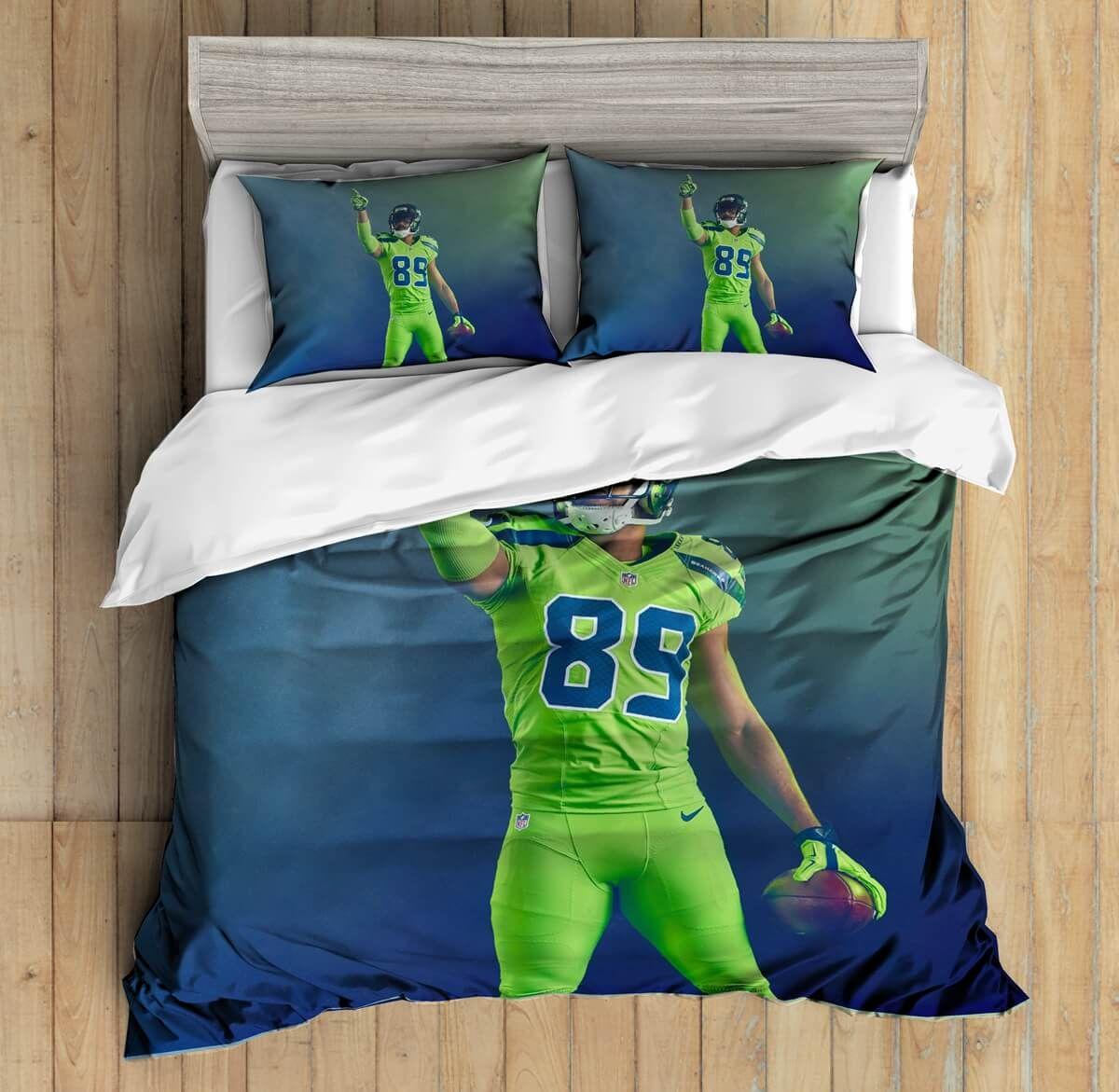3D Custom Doug Baldwin Seattle Seahawks Bedding Set Duvet