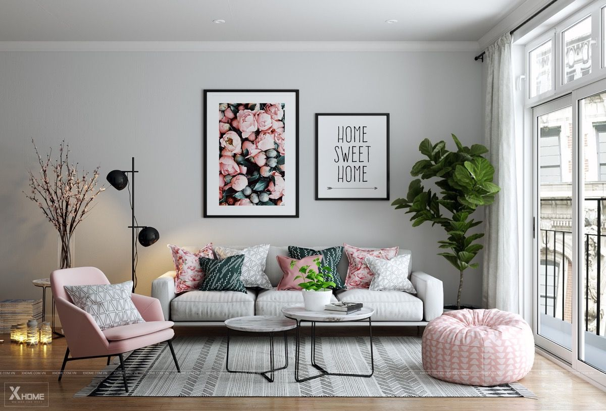 51 Pink Living Rooms With Tips Ideas And Accessories To Help You Design Yours Pink Living Room Chic Living Room Design Pink Accents Living Room #pink #walls #in #living #room