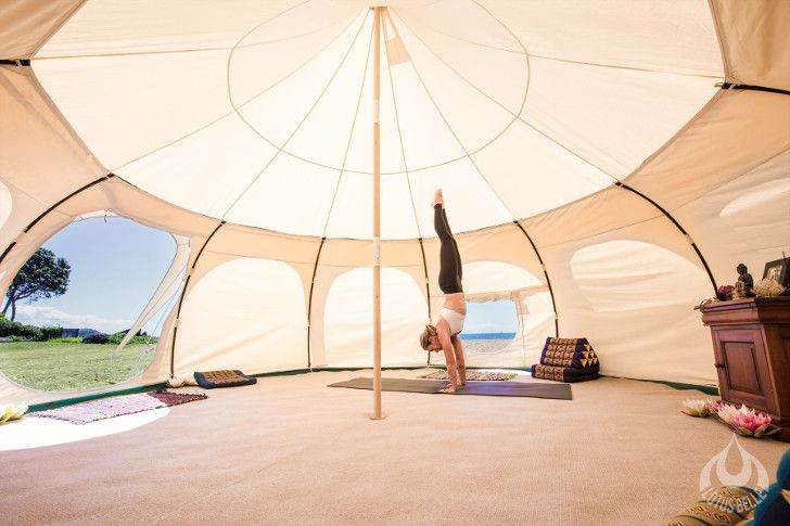 Lotus Belle Outback Tent can be used as a guest room yoga studio party & Lotus Belle Outback Tent provides a temporary luxury space with ...