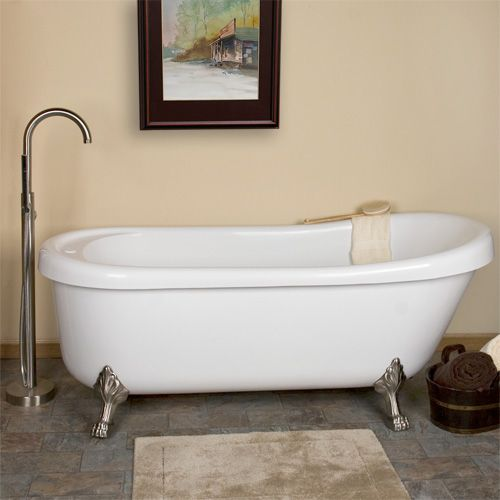 clawfoot jetted tub! | Dream house | Pinterest | Jetted ...