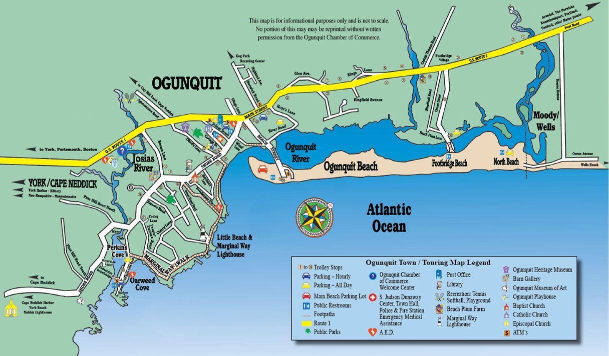 Ogunquit Me Ogunquit Maine A Destination New England Coast