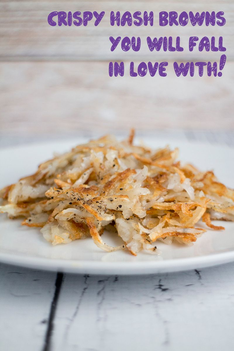 Crispy hash browns recipe with images crispy