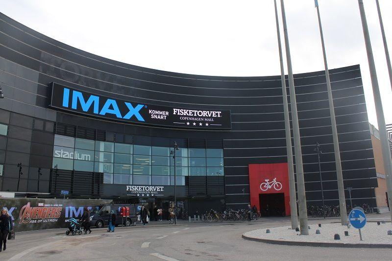 Imax Bliver Bygget Hos Cinemaxx Fisketorvet Copenhagenmall Imax