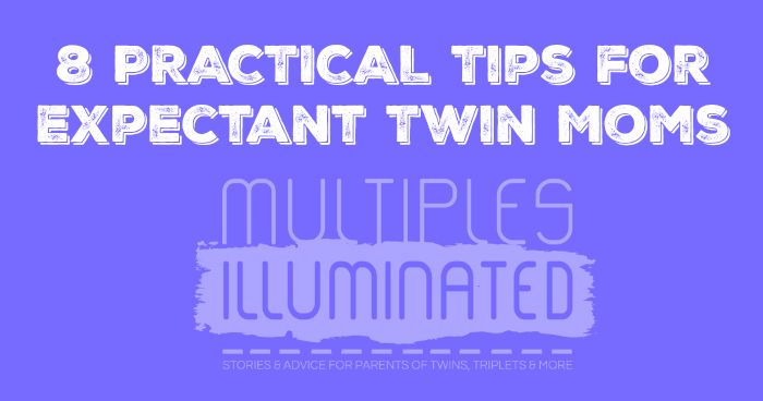 Expecting twins? Here are 8 great tips to help you through a healthy pregnancy and prepare for life with multiples.