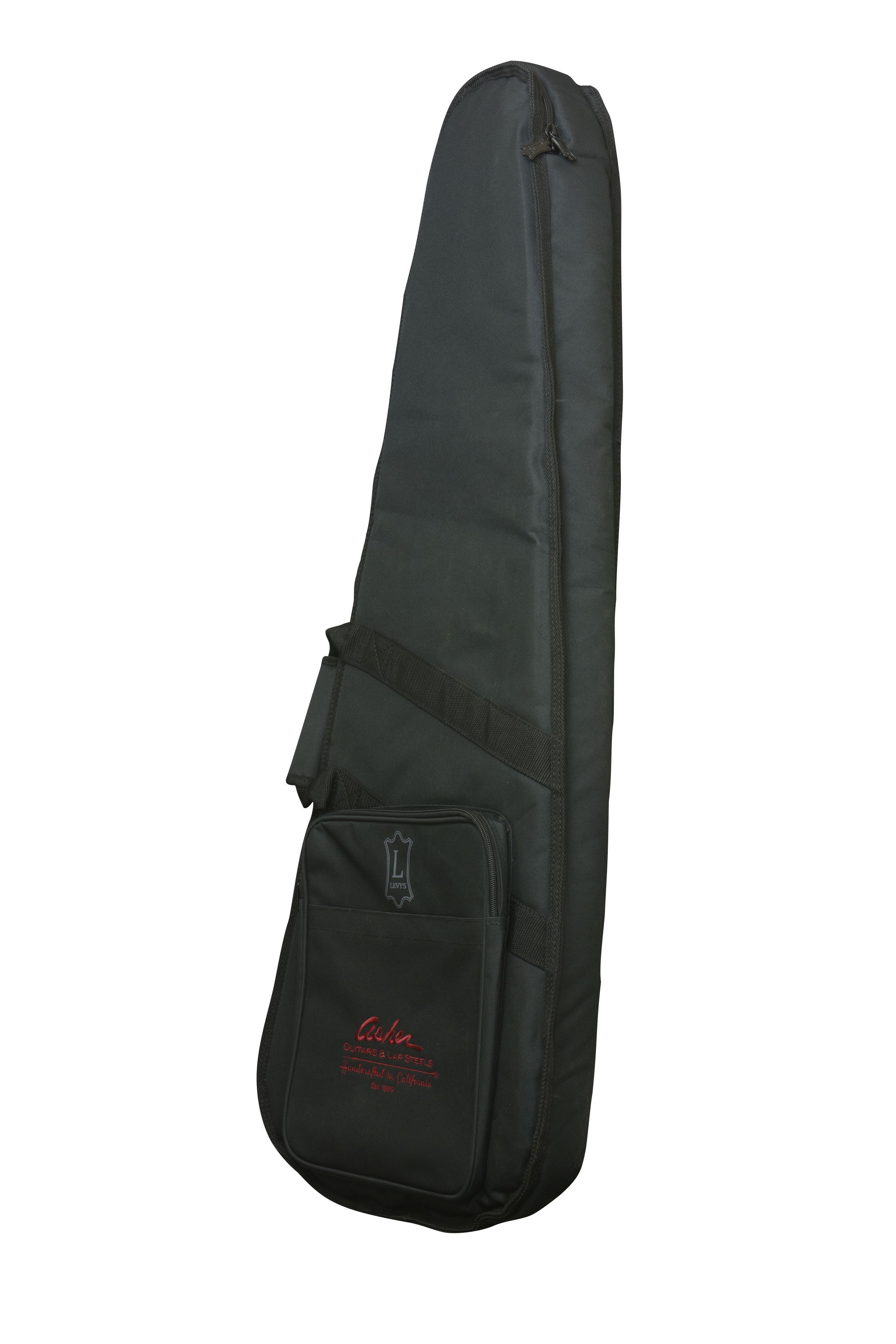 Asher deluxe gig bag by levys fits most asher guitars